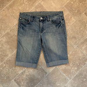 Calvin Klein Bermuda Jean Shorts